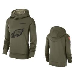 Womens   Sweats   NFL Women s Olive Salute to Service Hoodie 2d6f8788e