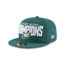 Hats   Fitted   NFL Eagles Super Bowl Champs Fitted Hat a95bb9f0ce8