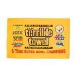 6 Time Super Bowl Champs Terrible Towel Thumbnail