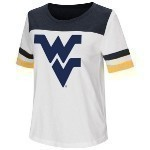 NCAA Women's 2-Tone Football Tee Thumbnail