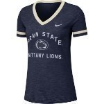 Women's NCAA Slub V-Neck Tee Thumbnail