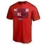 Capitals Cheer All Caps Tee Thumbnail