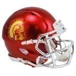 NCAA Chrome Mini Helmet Thumbnail