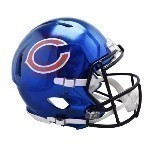 NFL Full Size Chrome Replica Helmet Thumbnail