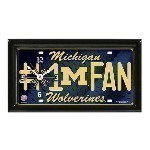 NCAA License Plate Clock Thumbnail