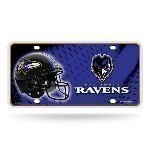 NFL Metal License Plate Thumbnail