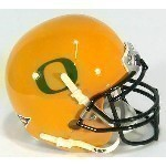 NCAA Schutt Mini Throwback Helmet Thumbnail