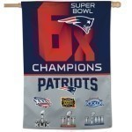 Patriots Super Bowl Champs 28x40 Banner Thumbnail