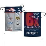 Patriots Super Bowl Champs Garden Flag Thumbnail