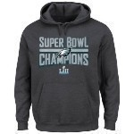 Eagles Super Bowl 52 Champs Grey Hoodie Thumbnail