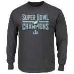 Eagles Youth Super Bowl 52 Champs L/S Tee Thumbnail