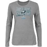 Eagles Women's Super Bowl 52 Champs L/S Tee Thumbnail