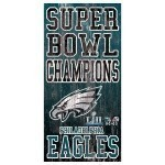 Eagles Super Bowl Champs Verticle Sign Thumbnail
