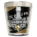 Penguins Stanley Cup  Champs Shot Glass Thumbnail