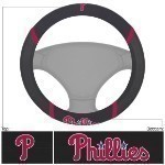 MLB Embroidered Steering Wheel Cover Thumbnail