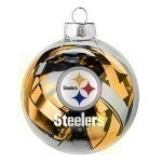 NFL Tinsel Ball Ornament Thumbnail