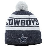 Dallas Cowboys Toasty Cover Knit Hat Thumbnail