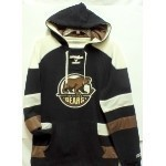 Hershey Bears Striped Hoodie Thumbnail