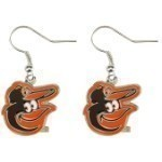 MLB Logo Hook Earrings Thumbnail