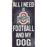 NCAA Football & Dog Sign Thumbnail