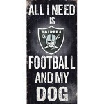 NFL Football & Dog Sign Thumbnail