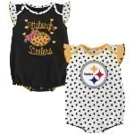 NFL Girls Infant Creeper Set Thumbnail