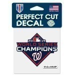 Nationals World Champs 4x4 decal Thumbnail