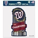 Nationals World Series Champs 8x8 Decal Thumbnail