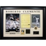 Roberto Clemente 3000 Lineup Card Thumbnail