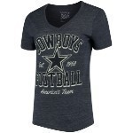 Women's Cowboys Everly V-Neck Tee Thumbnail