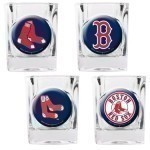 MLB 4 Piece Collector Shot Glass Set Thumbnail
