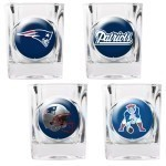 NFL 4 Piece Collectors  Shot Glass Set Thumbnail