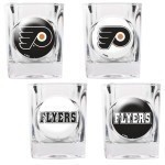NHL 4 Piece Shot Glass Set Thumbnail
