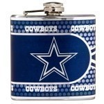 NFL 6oz. Metalic Hip Flask Thumbnail