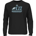 Eagles Super Bowl 52 Champs Black L/S Tee Thumbnail
