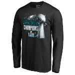 Eagles Lombardi Super Bow 52 Champs  L/S Tee Thumbnail