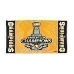 Penguins Cup Champs Locker Room Towel Thumbnail