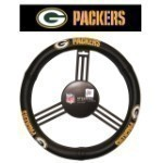 NFL Leather Steering Wheel Cover Thumbnail