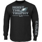 Eagles Super Bowl 52 Champs Hoist L/S Tee Thumbnail
