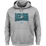 Eagles Youth Super Bowl 52 Champs Grey Hood Thumbnail