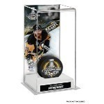 Penguins Tall Puck Stanley Cup Champ Display  Thumbnail