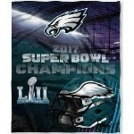 Eagles Super Bowl 52 Champs Silk Blanket Thumbnail