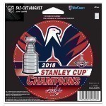 Capitals Stanley Cup Champs 4x5 Inch Magnet Thumbnail
