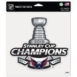 Capitals Stanley Cup Champs 8x8 Decal Thumbnail