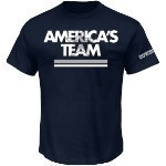 Cowboys Team Stripe Tee Thumbnail