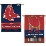 Red Sox World Series Champs 2 Sided Banner Thumbnail