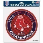 Red Sox World Series Decals Champs 8x8 Decal Thumbnail