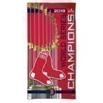 Red Sox World Series Champs Beach Towel Thumbnail