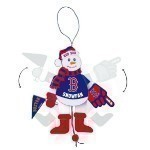 MLB Cheer Snowman Ornament Thumbnail